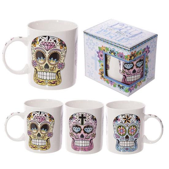 MUG Mug SKULL MEXICAIN / ROKA CONCEPTS - BOUTIQUE CADEAUX INSOLITE - YVERDON-LES-BAINS