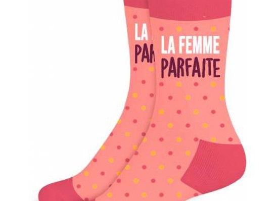 Chaussette Femme Parfaite / ROKA CONCEPTS - BOUTIQUE CADEAUX INSOLITE - YVERDON-LES-BAINS