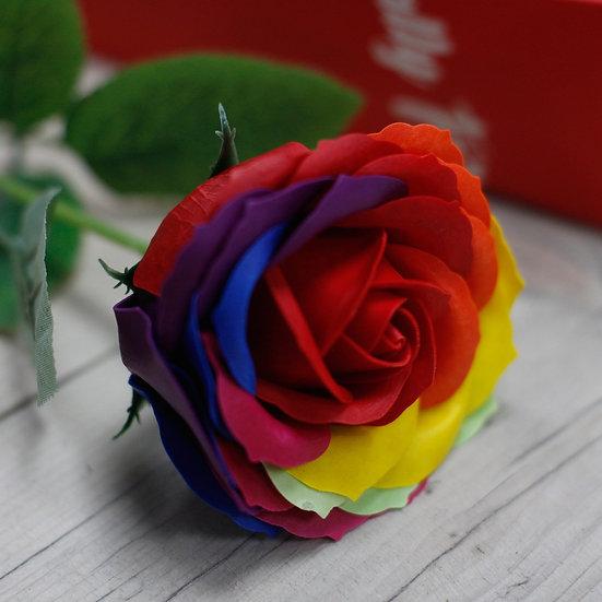 Fleur Rose de Bains multicolor  / ROKA CONCEPTS - BOUTIQUE CADEAUX INSOLITE- YVERDON-LES-BAINS