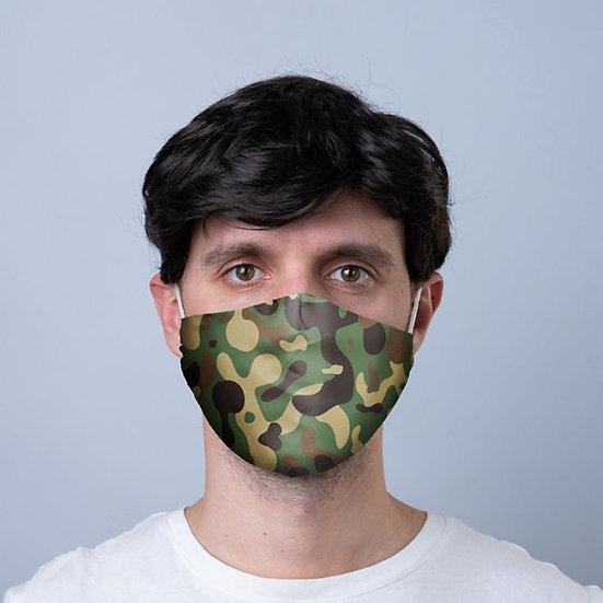 Masque Barrière - Camo / ROKA CONCEPTS - BOUTIQUE CADEAUX INSOLITE - YVERDON-LES-BAINS