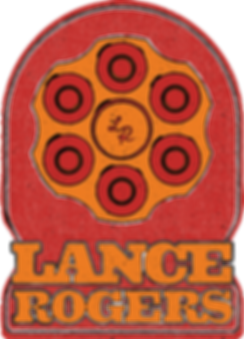 Lance Rogers music singer songwriter logo by Sarah Gillum