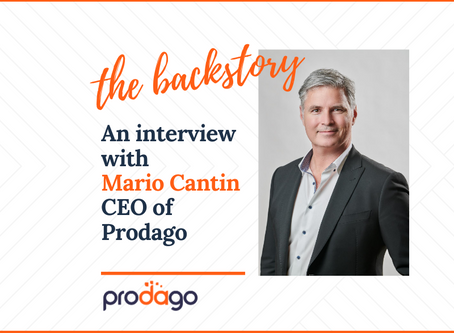 The Story of Prodago and Mario Cantin, its Founder
