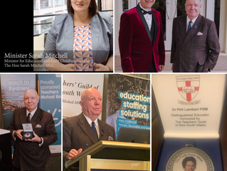 Teachers' Guild of New South Wales Annual Dinner and Presentation of Awards for 2020