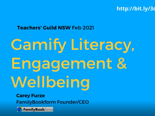 Gamify Literacy, Engagement & Wellbeing Webinar with Carey Furze