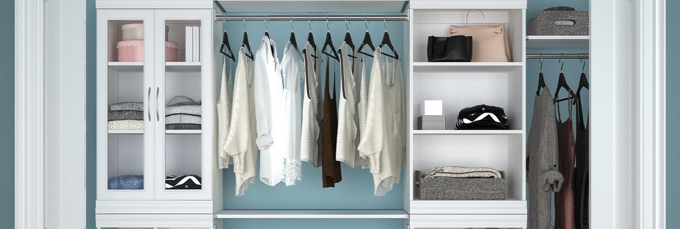 FAQ - Organized Walk-In Closet System