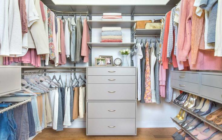 FAQ - Stylish Walk-In Closet System