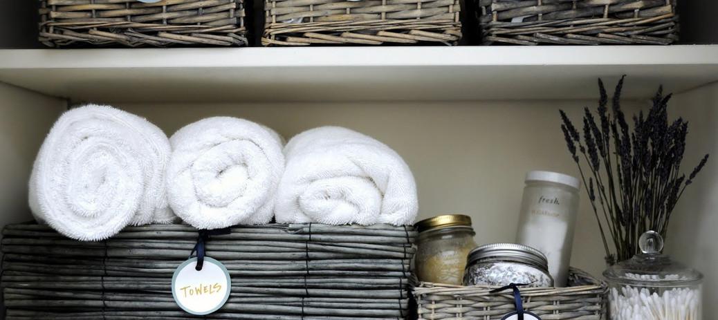 FAQ - Linen Storage Closet Baskets