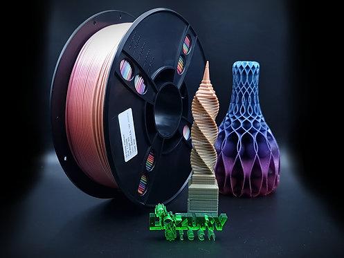 Filamento PLA Multicolor Anet 1.75mm 1Kg para Impresoras 3D