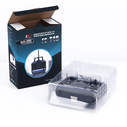 CONTROL REMOTO 4 CANALES FLY SKY FS-T4B