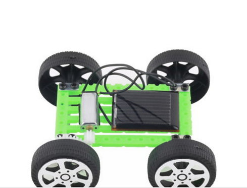 Kit Mini Carro de Energia Solar DIY