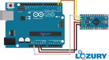 Como programar Arduino Pro Mini con Arduino Uno