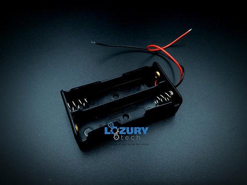 Adaptador de Baterías 18650 3.7V (2 / 3 Slot)