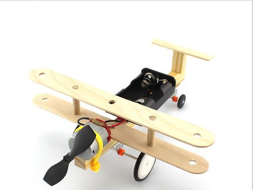 Kit Avion de Madera DIY