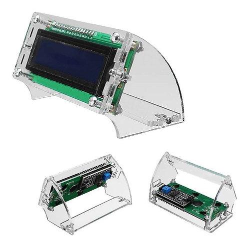 Case de Acrílico para LCD 16x2