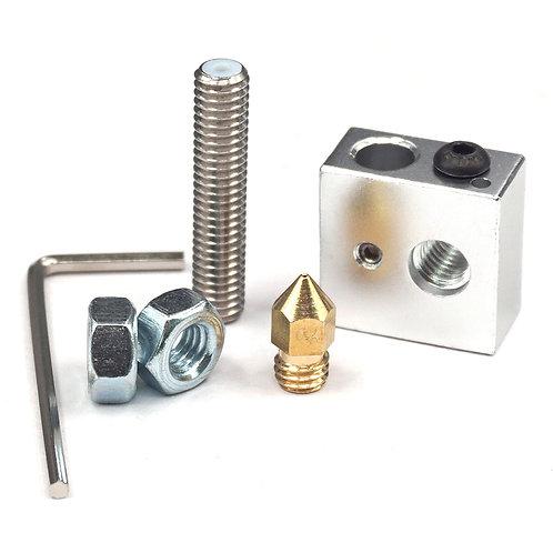 Kit Hotend Bloque Calentador de Aluminio