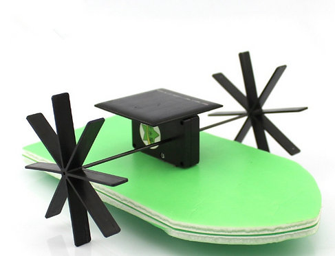 Kit Barco con Energia Solar DIY
