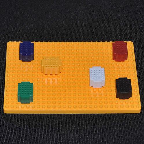 Kit de Mini Protoboard con Base 6PCS