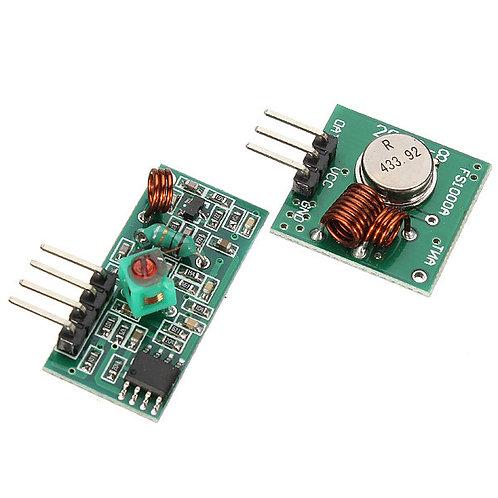Módulo Receptor y Transmisor RF 433 MHz