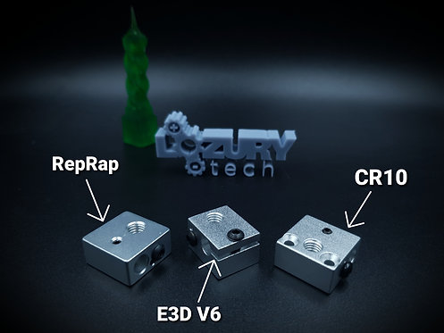 Bloque Calentador de Aluminio para Extrusores