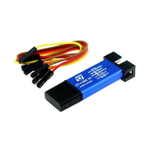 Programador para Microcontrolador ST-Link V2 STM8 STM32