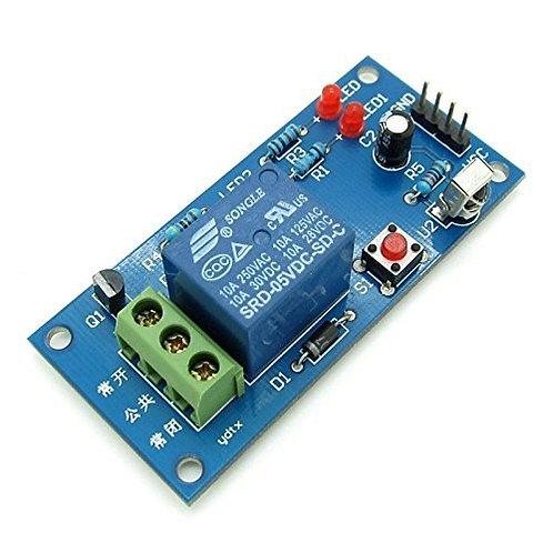 Módulo Relay de un Canal Programable Para Control Remoto IR