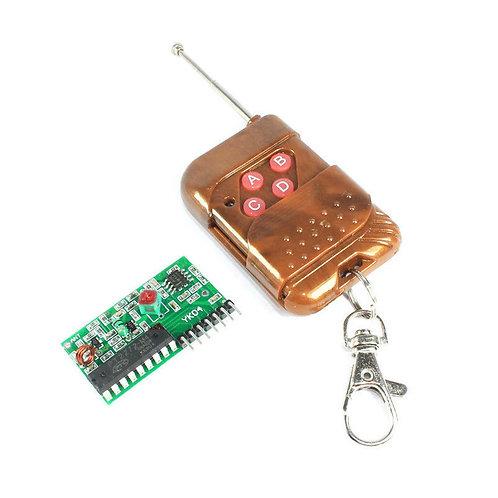 Control de Radio Frecuencia 433 MHz de 4 Canales