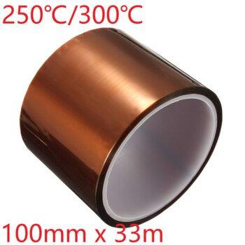 Cinta Termica para PCB Impresoras 3D 100mm X 33M