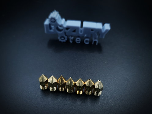 Boquilla de Latón 6mm para Extrusor de Impresora 3D