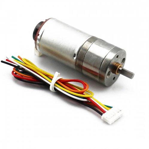 Motor con Encoder HALL 25GA