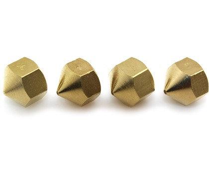 Boquilla de Cobre para Impresora 3D Reprap Budaschnozzle 0.3 mm M10x1