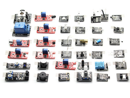 Guía de Kit de 37 Sensores para Arduino