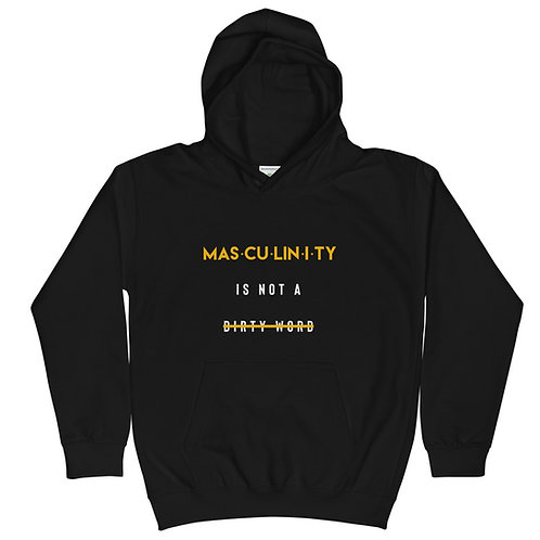 Masculinity Kids Hoodie