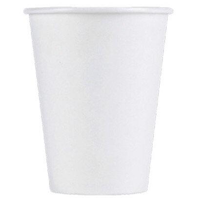 12oz Vaso p/caliente blanco caja