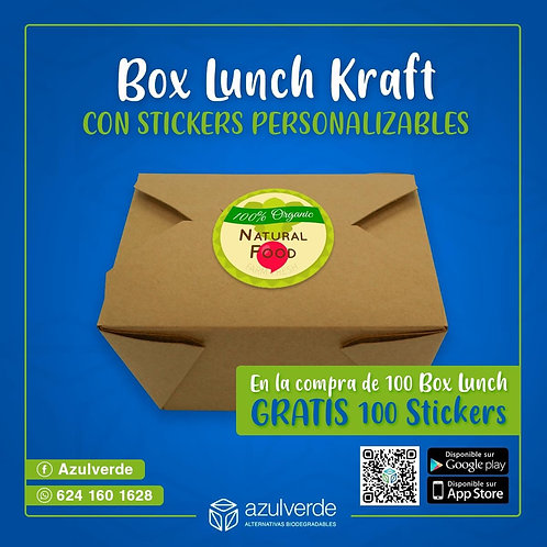 Box lunch #4 + stickers