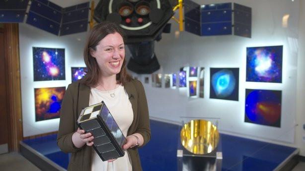 EIRSAT-1 features on RTE's Spéis sa Spás (as Gaeilge)