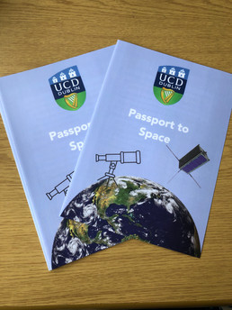 Space Passports at UCD Festival