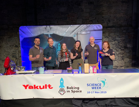 Baking in Space 2019
