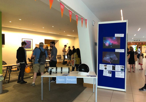 Passport to Space at UCD Festival 2019