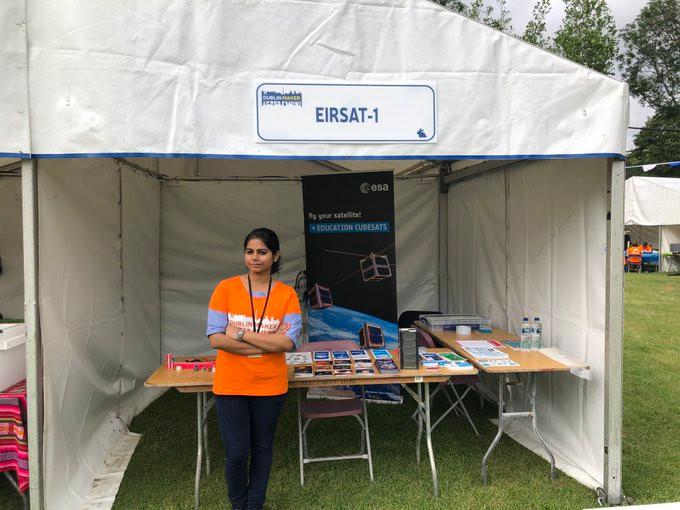 Rakhi at Dublin Maker Festival 2019