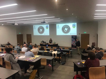 Lána speaks at Institute of Physics Frontiers Conference 2018