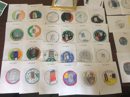 Mission patch competition entries
