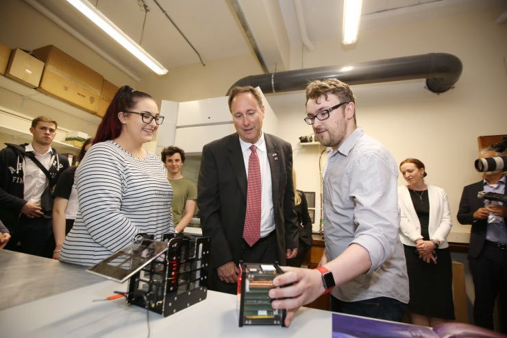 Visit to UCD by NASA Acting Administrator