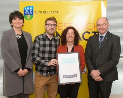 UCD Research Impact Award 2019