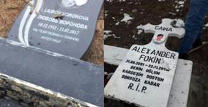 Турецкие строители «небоскребов из черепов» переходят от слов к делу на кладбище