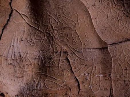 Видео: Археологи нашли таинственные письмена возрастом 15 тысяч лет