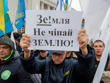 Открытие рынка земли на Украине во время мирового кризиса