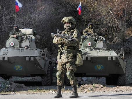Российские военные рулят в Закавказье