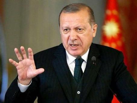 Эрдоган не прекращает обвинять Россию