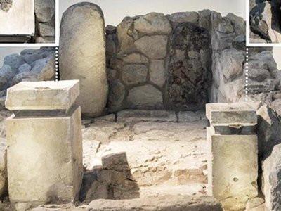 Два алтаря иудейского храма в Араде