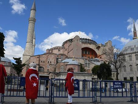Эрдоган исламизирует Собор Святой Софии и вновь бросает вызов Европе